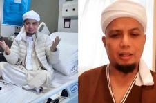 Momen Ustaz Arifin Ilham ajarkan anak mengaji meski masih sakit