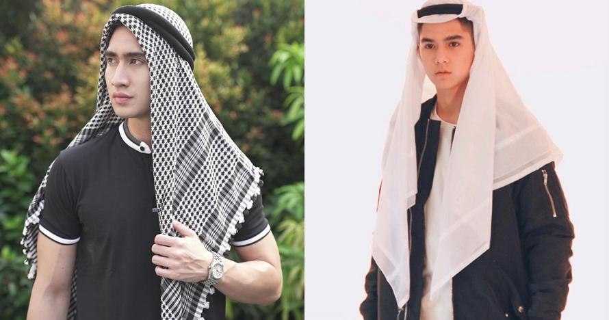 Gaya 8 seleb ganteng pakai serban, pesonanya bak pangeran Arab