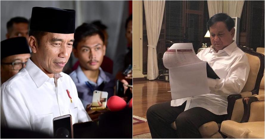 Prabowo tolak hasil perhitungan KPU, ini tanggapan Jokowi