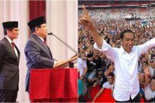 Ini rincian sementara suara Jokowi vs Prabowo di 26 provinsi