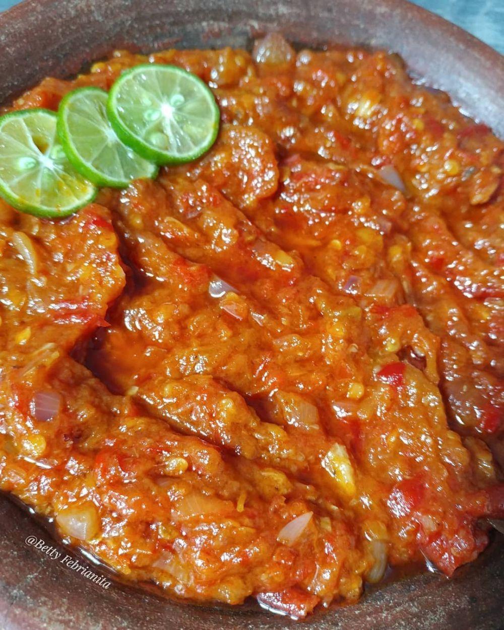 35 Resep sambal khas nusantara, menggugah selera  istimewa