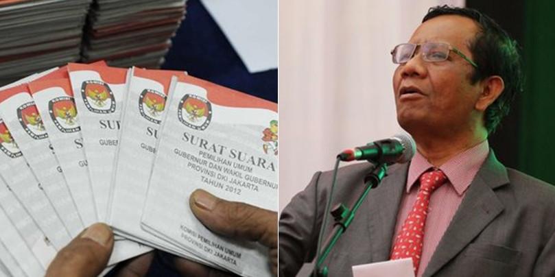Mahfud MD: Kalau tak ada gugatan, 26 Mei sudah ada presiden baru