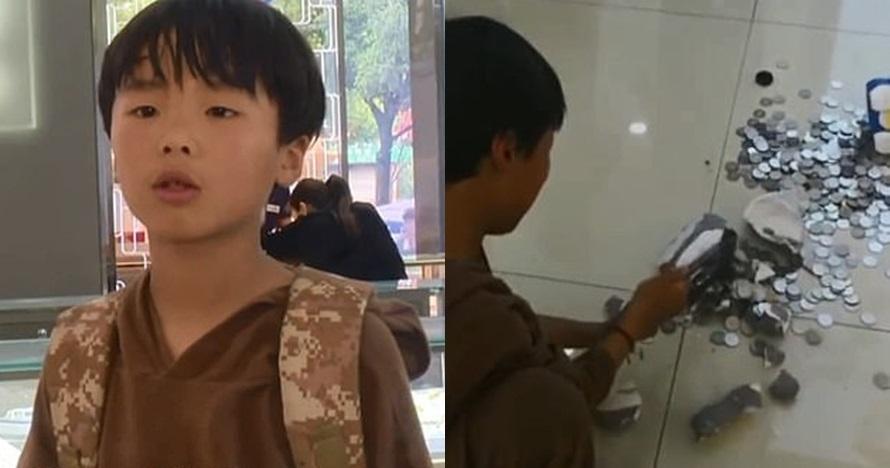 Belikan ibunya cincin, bocah bongkar celengan hasil nabung 2 tahun