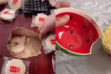 7 Karya DIY perbaiki perabotan pakai bahan makanan ini unik abis