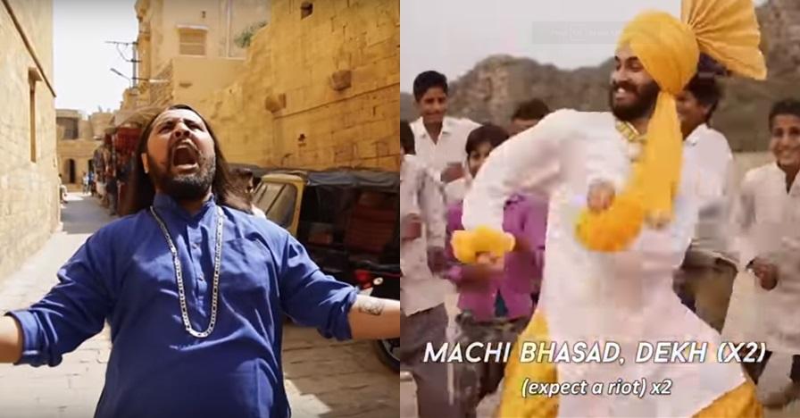 Saat band metal India nyanyi, ada tarian ala film Bollywood lho