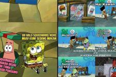 6 Meme lucu SpongeBob ini ajarkan toleransi, dijamin bikin adem