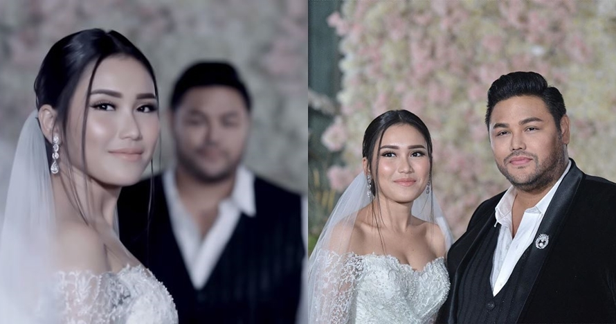 7 Potret serasi Ivan Gunawan & Ayu Ting Ting berbusana pengantin