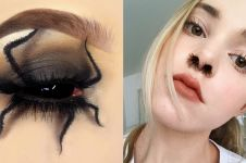 15 Ide fashion ini absurd abis, ada bibir berbulu