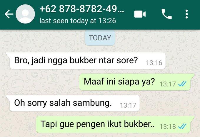 chat modus ngajak bukber © 2019 berbagai sumber