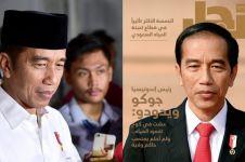 Jadi cover majalah Arab, ini isi wawancara Jokowi