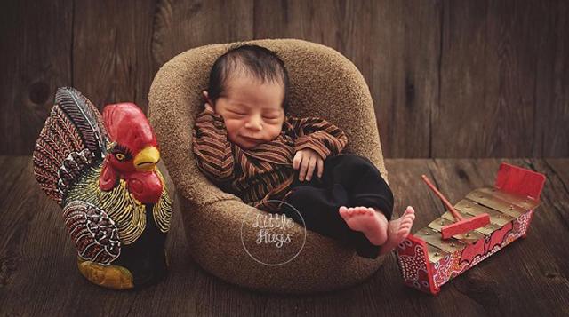 newborn adat seleb © 2019 brilio.net
