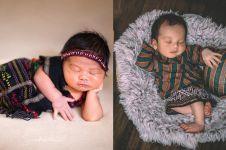5 Anak seleb pemotretan newborn dengan baju adat, ada Sedah Mirah