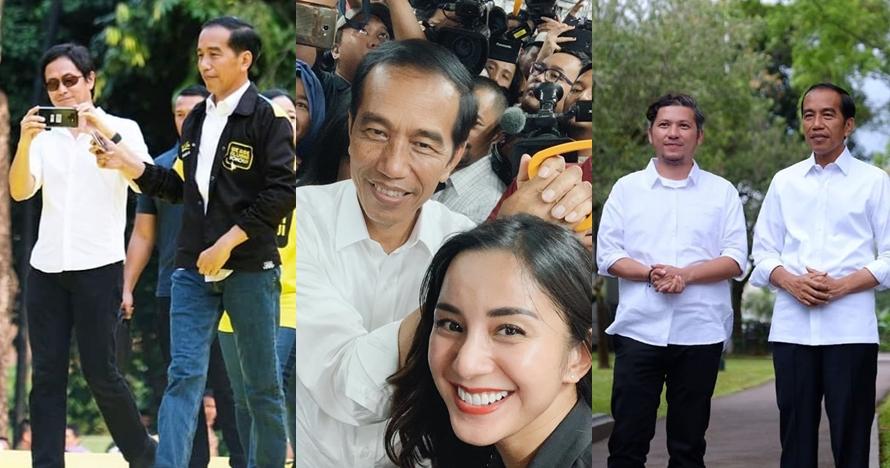 Ucapan selamat 9 seleb atas kemenangan Jokowi-Ma'ruf Amin