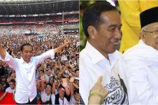 Jokowi: Terima kasih atas pemilu yang damai dan penuh kegembiraan