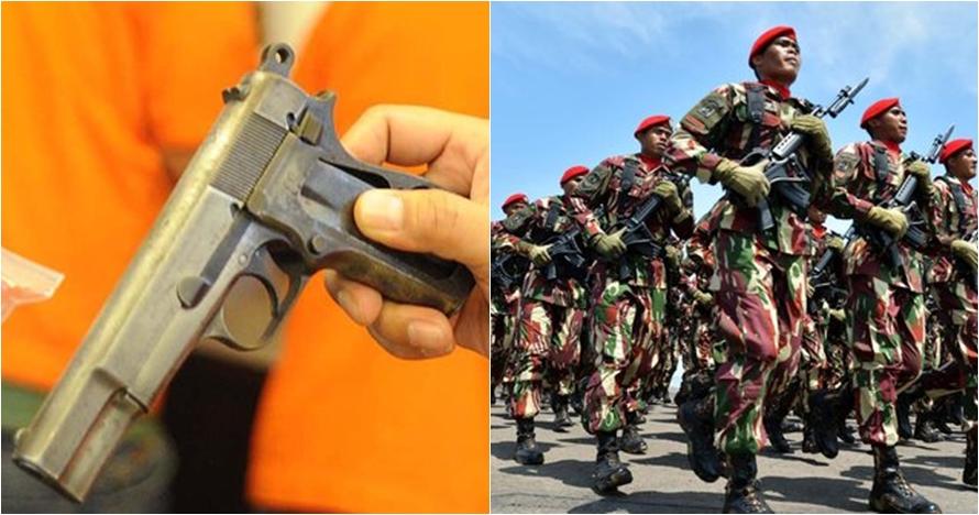 Selundupkan senjata, polisi tangkap Mayjen (Purn) S dan Praka BP