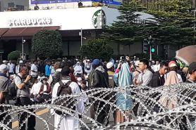Demo di Bawaslu, ribuan personel gabungan TNI dan Polri bersiaga