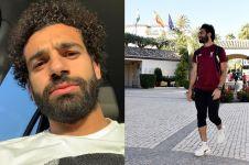 Jalani puasa saat ke Madrid, Mo Salah tidur di lantai pesawat
