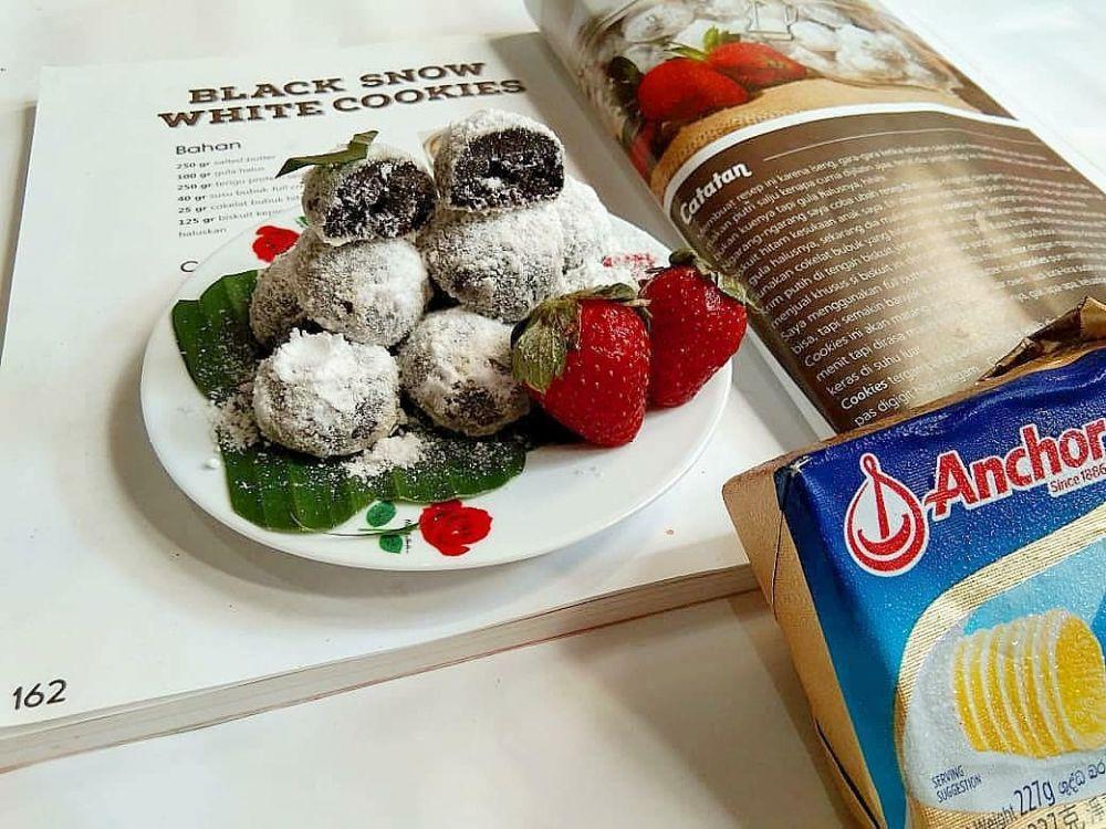 Resep kue putri salju instagram
