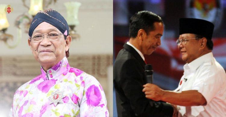Sultan HB X kasih pesan penting buat Jokowi & Prabowo, ini isinya