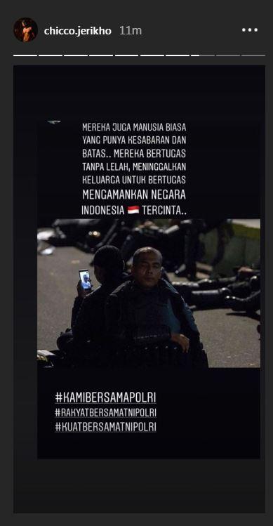 pesan damai seleb  © 2019 brilio.net