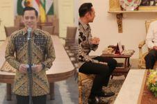 Ini hasil pertemuan Jokowi & AHY di Istana Bogor, bahas soal SBY