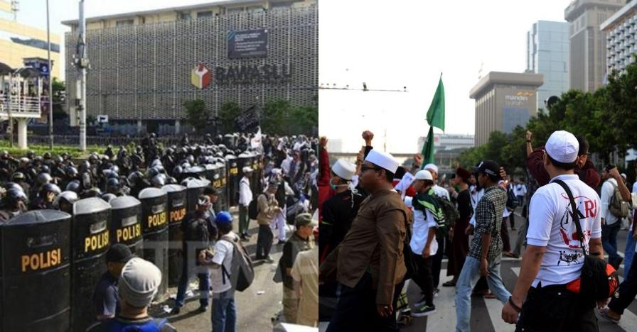 Polisi tangkap 58 provokator yang bikin ricuh Aksi 22 Mei