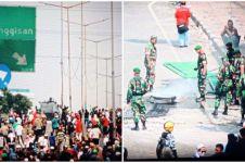 TNI datang, rusuh di Jalan Jatibaru mereda