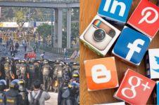 Buntut Aksi 22 Mei, pemerintah akan batasi akses media sosial