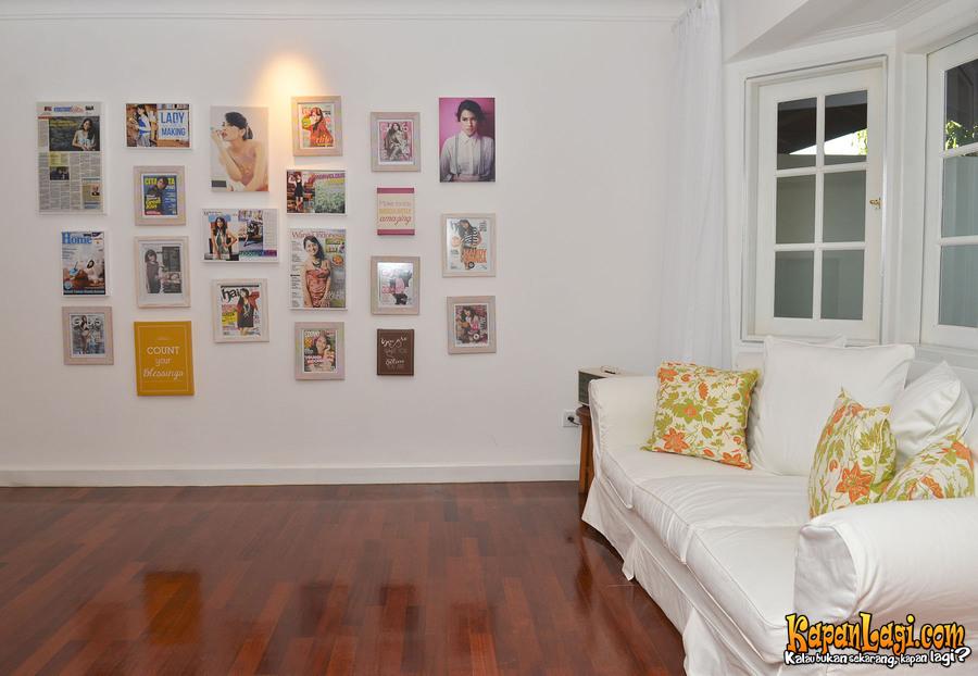 Potret rumah Maudy Ayunda istimewa