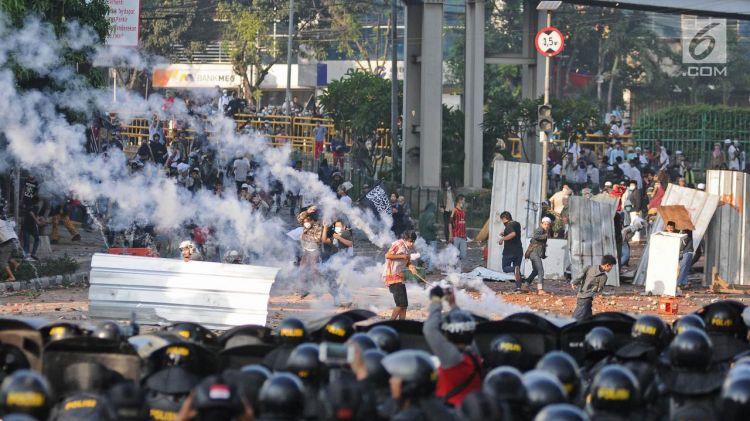 8 Temuan polisi di balik kerusuhan 22 Mei dini hari