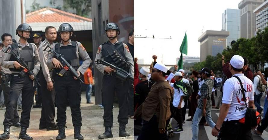 Pria ini buka lapak sepatu saat rusuh Bawaslu, Indonesia banget!