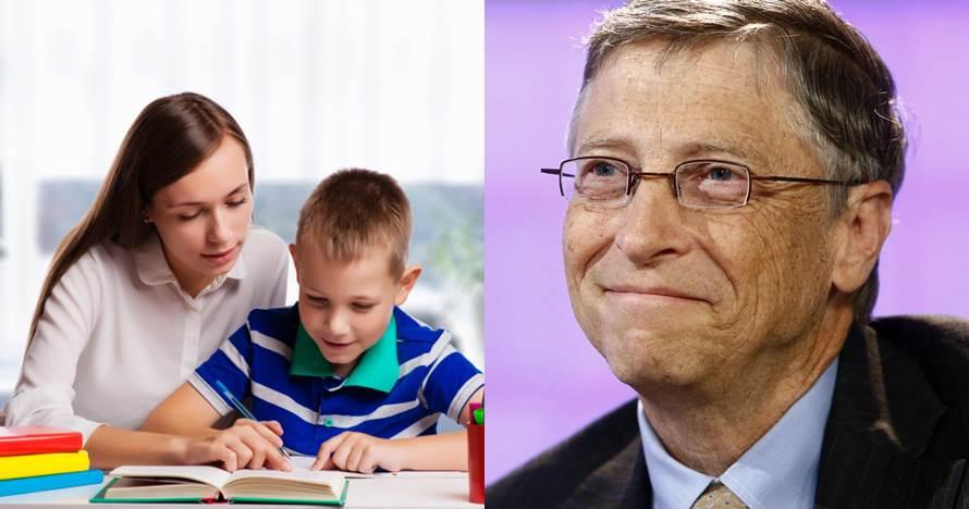 5 Pola asuh orangtua ini bisa jadikan anak seperti Bill Gates