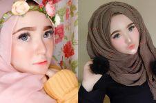 Bak barbie, ini 10 potret Herlin Kenza hijaber dari Aceh