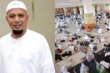 10 Potret salat jenazah Ustaz Arifin Ilham, diikuti ribuan jamaah