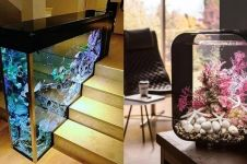 13 Desain akuarium untuk mempercantik ruangan, pengusir stres