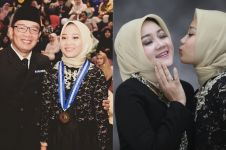 6 Momen wisuda putri Ridwan Kamil, penampilannya curi perhatian