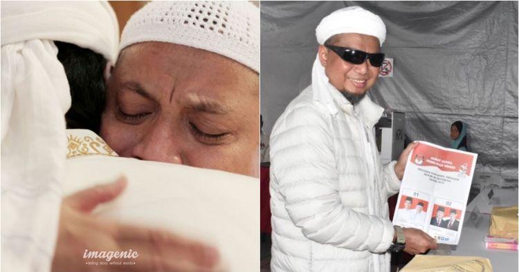 Ini wasiat Ustaz Arifin Ilham untuk pendukung Jokowi dan Prabowo