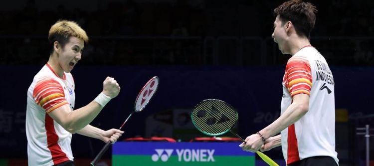 Kandaskan Taiwan, Indonesia melaju ke semifinal Piala Sudirman 2019
