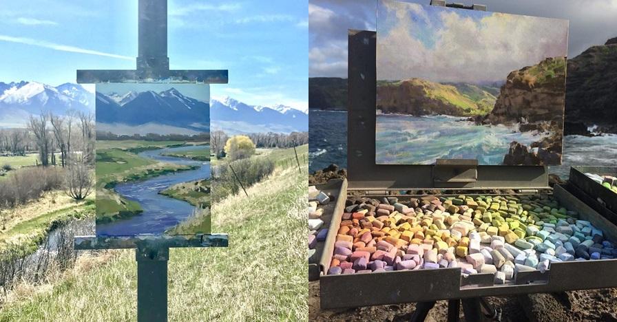 15 Lukisan pemandangan mirip dengan aslinya ini bikin takjub