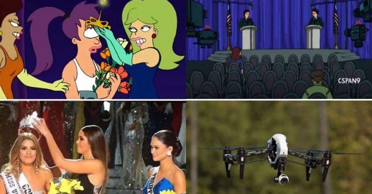 Selain The Simpsons, 7 adegan kartun ini jadi kenyataan