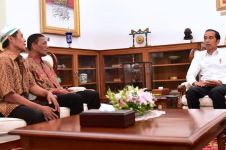Pemilik warung korban Aksi 22 Mei bertemu Jokowi, ini yang dibahas