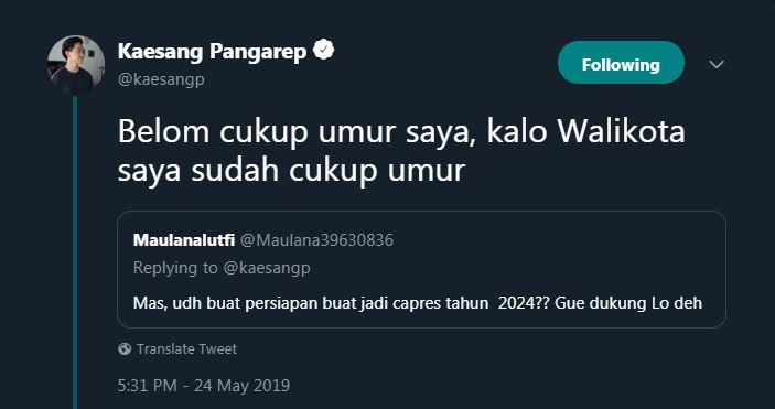 kaesang 2024 © 2019 brilio.net
