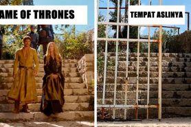 12 Foto perbandingan lokasi syuting Game of Thrones vs tempat aslinya
