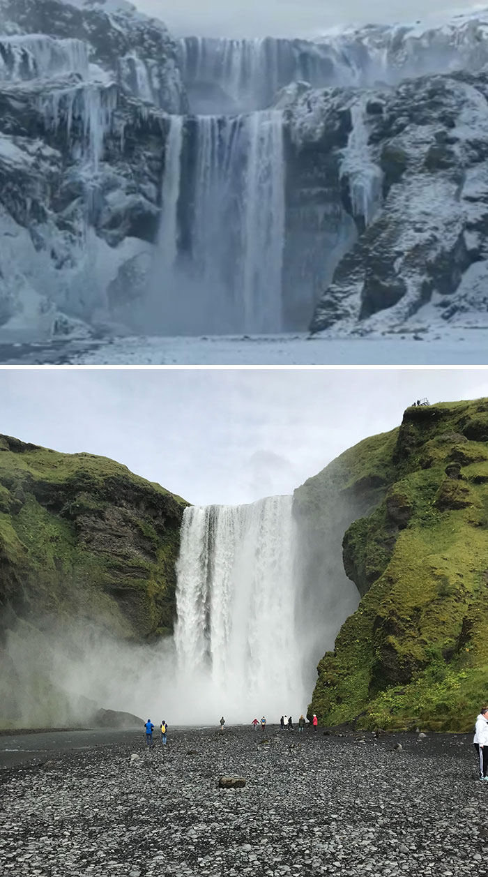 lokasi syuting games of thrones vs dunia nyata © boredpanda.com