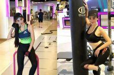 Natasha Ratulangi ternyata hobi nge-gym, ini 8 potretnya