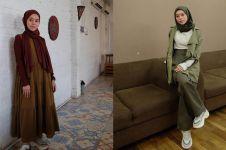 10 Outfit kasual Lesty Kejora ini cocok buat hijaber pemula