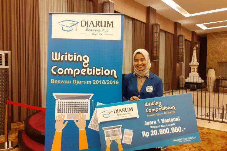 Jadi pemenang writing competition Beswan Djarum, ini rahasianya