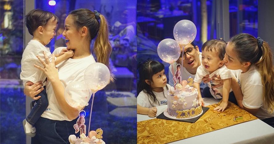 9 Momen perayaan ulang tahun Ziona, anak bungsu Joanna Alexandra
