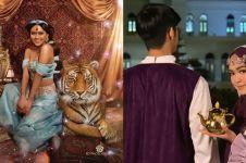 Aladdin tayang, ini gaya 5 seleb berdandan bak Putri Jasmine
