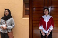 Penampilan putri 7 pejabat ini simpel, jauh dari kesan glamor